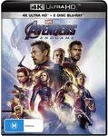 [Prime] Avengers Endgame (4K Ultra HD + Blu-Ray) $10 Delivered @ Amazon AU
