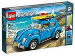 LEGO Creator Expert Volkswagen Beetle 10252 Construction Set $129 C&C @ Myer eBay