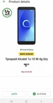 Telstra Prepaid Alcatel 1x and Alcatel U3 $1 @ Woolworths Instore Only