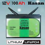 Kasan 100Ah 12V Lithium Battery with LCD Screen Monitor $390.98 Delivered @ Rollingcart