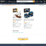 LEGO Technic Concrete Mixer Truck 42112 $95 (Expired), Creator 3in1 Pirate Ship 31109 $95 Delivered @ Amazon AU
