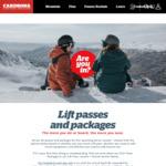 6-Day Earlybird SKI Pass  NZ$450 (~A$69.45/Day) @ Cardrona (New Zealand)