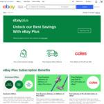 eBay Plus Monthly Subscription - $4.99 Per Month @ eBay