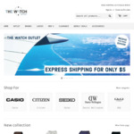 15% off Sitewide, Seiko 5 Men's Sports Automatic Watch SRPE65K1 $199.97 (RRP $495) Shipped @ The Watch Outlet