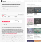Indie Bundle for Palestinian Aid (1,272 Items from 865 Creators) - US$5 (~A$6.81) @ Itch.io