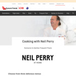 [ACT, NSW, QLD, VIC] Neil Perry Cooking Class 25000 Points or $199 + Pair of Qantas Business Pyjamas Delivered @ Qantas
