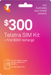 Telstra Pre-Paid Starter Packs: 12-Month $300 200GB for $234, 6-Month $150 90GB for $117 Delivered @ Simonline