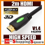 2M HDMI V1.4 Cable High Speed with Ethernet @ eBay $2.48 Delivered