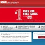 Free Marvel #1 Digital Comic Issues X 700 (Back on Again!)
