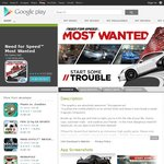 [Google Play] Need for Speed Most Wanted for 99c (down from around $5.49)
