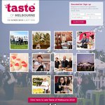 Free Tickets to The Taste of Melbourne 2013 on Nov 14 & 15
