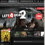 Left 4 Dead 2 (Uncut) Steam Game Key @ US $3.99 from GameFly