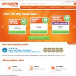 Amaysim 50% off Unlimted - Ends 31/3. Extra $10 Credit New Customers