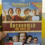 [QLD] Anchorman 1 + 2 Blu-Ray Box Set for $29.98 at JB Hi-Fi Chermside
