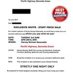Harvey Norman Staff Price Sale @ Harvey Norman Bennetts Green in Newcastle, NSW