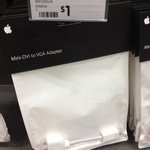 Apple Mini-DVI to VGA Official Cable $1 in Store at Dick Smith (Warringah Mall, NSW)