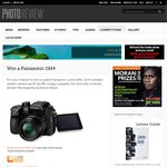 Win a Panasonic Lumix DMC-GH4 Compact System Camera from Photo Review