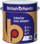 British Paints Low Sheen Interior 4L at Bunnings $17.50