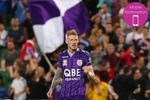 $20 for a Perth Glory T-Shirt and Complementary Match Ticket at NIB Stadium, Perth CBD ($50 Value) via Groupon