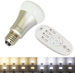 7W LED Smart Bulb 2.4G RF Remote Controlled Color Temperature Dimming (USD$22.5 Shipped) @MyLED
