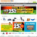 25% off Storewide at Anaconda