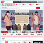 $20 off UNIQLO Ultra Light Down - Vests and Jackets from $39.90 Women/ $59.90 Men