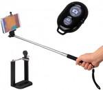 Selfie Stick + Bluetooth Remote for $10.82 With Voucher + Free Express Postage @ 123Deals.com.au