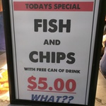 Fish & Chips + Can of Soft Drink $5 @ Costi's [Dee Why, NSW]