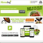 $10 off Menulog Order Via iOS App - Credit Card Payment Only