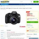 Canon EOS 1200D DSLR Camera with 18-55mm Single Lens Kit $323 after $75 Cashback @ Joyce Mayne