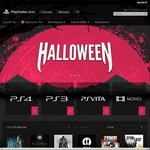 AU PSN Halloween Sale: Evolve: $27.48 (PS4), Evil Within: $34.97 (PS4) or $24 (PS3), Wolfenstein: New Order $29.97 (PS4)