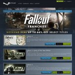 [STEAM USD] Fallout 3 GOTY Edition [$10.74] AND Fallout: New Vegas Ultimate Edition [$9.99]
