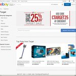 25% off Target eBay Store