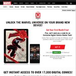 1 Month Free $0 of Marvel Unlimited + 6 Free New Releases Marvel Digital Comics