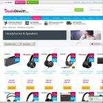 50% off Headphones & Speakers @ DealsDirect eg. Sony SRSX7 $106.87