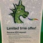 $50 for New Complete Freedom Account at St George Bank Darlinghurst NSW ($500 Deposit Required)