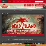[PC] Dead Island Bundles - US $3.99 (~AU $5.18) and US $7.99 (~AU $10.36) @ Indiegala