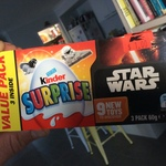 Kinder Surprise x3 Value Pack Star Wars - $1 at Kmart Pacific Pines QLD (other stores?)
