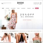 Dissh - Family and Friends 30% off - Instore and Online - 9/12/2016 only
