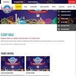 Dreamworld/WhiteWater World Tickets $35, Season Passes $64