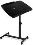 Rotating Mobile Laptop Adjustable Desk with USB Cooler Black $33.90 Delivered @Shoppingjoey