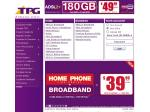 TPG Standalone ADSL2+, Naked ADSL2+ & Unlimited ADSL2+/Homephone Bundle Plans Revised