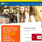 TeleChoice Student Offer - Unlimited^ talk, SMS/MMS & 5.5GB for $26.10/M | 9GB for $34.20/M (Per Month: 12 Month Lock-In)
