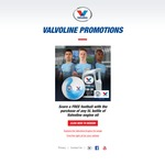 Free Football with Any 5L Bottle of Valvoline Engine Oil