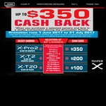 $350 Cashback on Selected Fujifilm Mirrorless Cameras with Lens Purchase