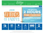 2 Hours Free Parking at Paddy's Haymarket (Sydney, NSW) 10am-6pm Sat &Sun