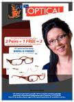 3 Pairs of Prescription Glasses for $179