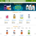 iHerb 10% off Orders over USD $40 + Free Tracked AusPost Shipping for Australian Customers with Combined Codes