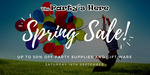 The Party's Here Spring Sale - up to 50% off + FREE Nutella Donuts & FREE Balloon Twisting [Padstow, NSW]