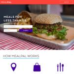 $50 Coles Gift Card - Mealpal | $95.88 for 30 Days (12 Meals) / $149.80 for 30 Days (20 Meals) [Melbourne & Sydney CBD]